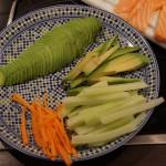 Gemüse: Beilage, Füllung, Input :)